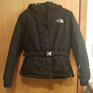 North Face hooded down jacket